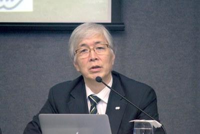Talk with Hideyo Kunieda