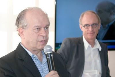 Minister Renato Janine e Martin Grossmann