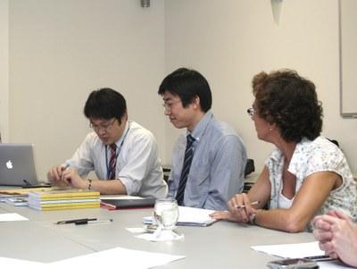 Susumo Saito, Dapeng Cai and Sylvia Dantas