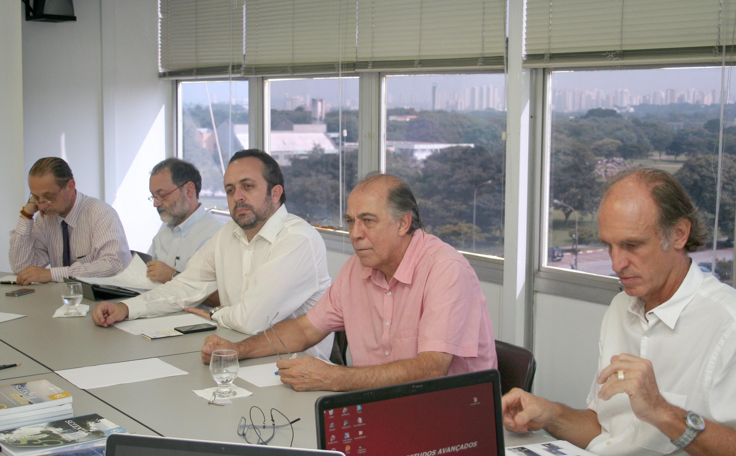 Claudio Possani, Antonio Carlos Vieira Coelho, Hamilton Varela de Albuquerque, Pablo Mariconda and Martin Grossmann