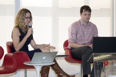 Nikki Moore and David Gange