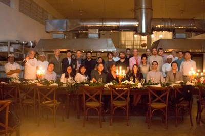 Closing dinner at Neka Gastronomias