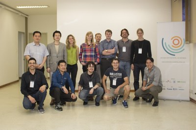 The 13 participants of the Intercontinental Academia