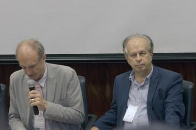 Martin Grossmann and Minister Renato Janine Ribeiro