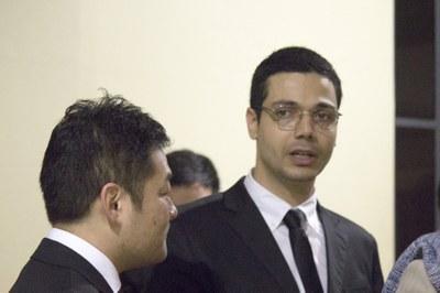 Norihito Nakamichi and Eduardo Almeida