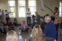 Paulo Saldiva talking at USP's School of Medicine - Scientific and Cultural Tour: USP and Modernist São Paulo - April 18, 2015