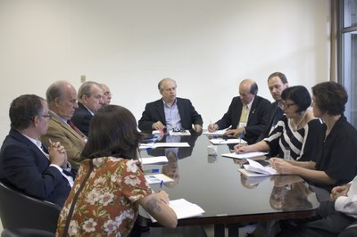 Meeting with minister Renato Janine Ribeiro and presidents of Brazilian universities - April 24, 2015