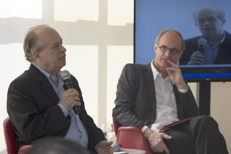 Talk with brazilian minister of Education Renato Janine Ribeiro, April 24, 2015